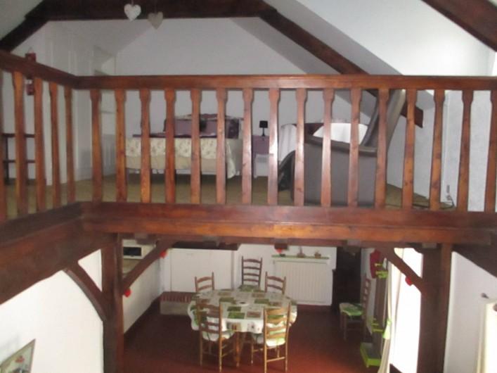 Location de vacances - Maison - Villa à Pénestin - Mezzanine vue de l'escalier