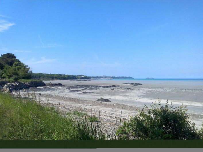 Location de vacances - Chambre d'hôtes à Hirel - la baie a marée basse