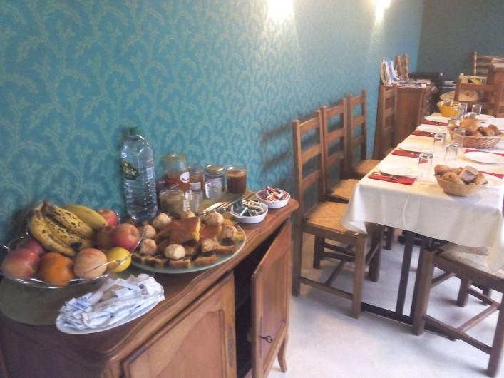 Location de vacances - Chambre d'hôtes à Hirel - petit dejeuner avec confitures maison