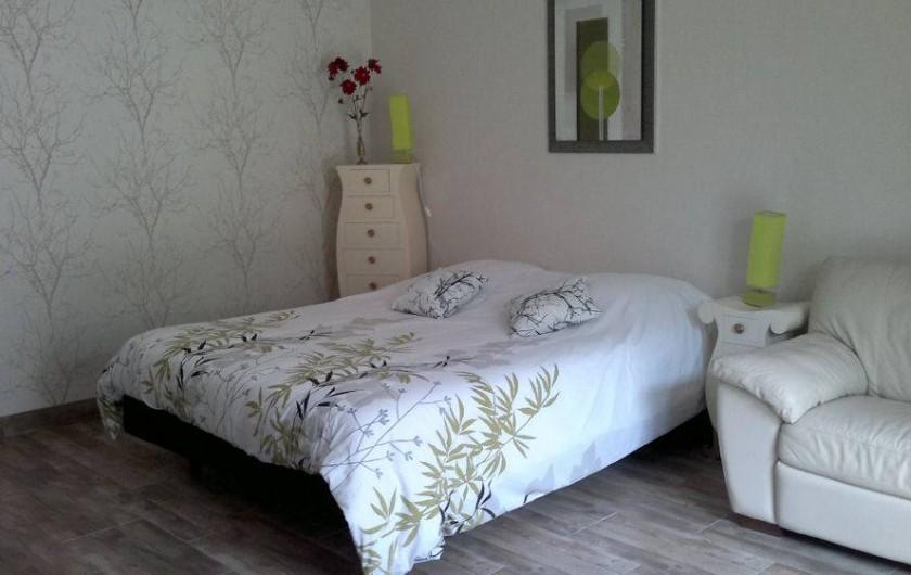 Location de vacances - Chambre d'hôtes à Hirel - rdc lit en 160