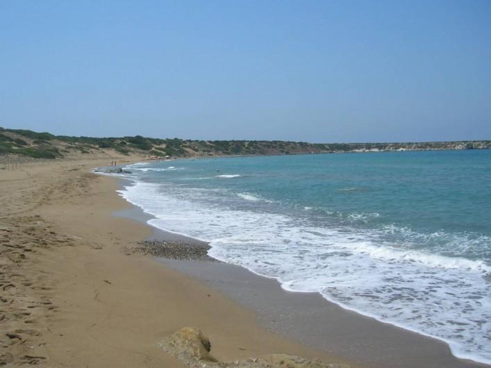 Location de vacances - Appartement à Kato Paphos - Lara (turtle beach) dans la presqu'île d'Akamas, parc naturel national