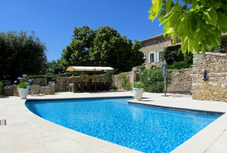 Location de vacances - Chambre d'hôtes à La Bruguière - Piscine