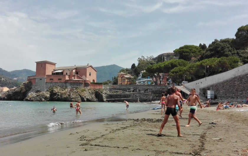 Location de vacances - Appartement à Levanto - La plage de Levanto