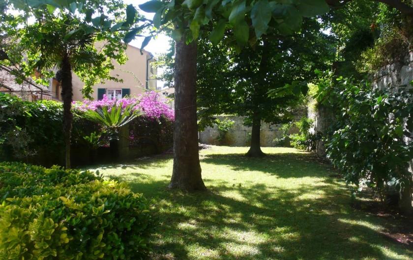 Location de vacances - Appartement à Levanto - Le jardin de la maison