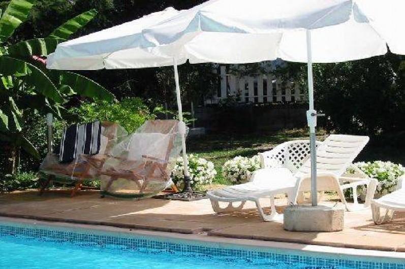 Location de vacances - Appartement à Bagnac-sur-Célé - ENTREE PARC