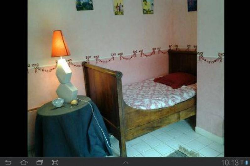 Location de vacances - Appartement à Bagnac-sur-Célé - CHAMBRE 2 LITS 110