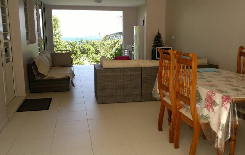 Location de vacances - Maison - Villa à Les Trois-Îlets - séjour