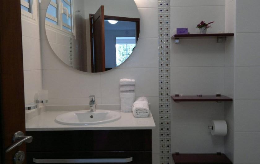 Location de vacances - Maison - Villa à Les Trois-Îlets - salle de bain 1