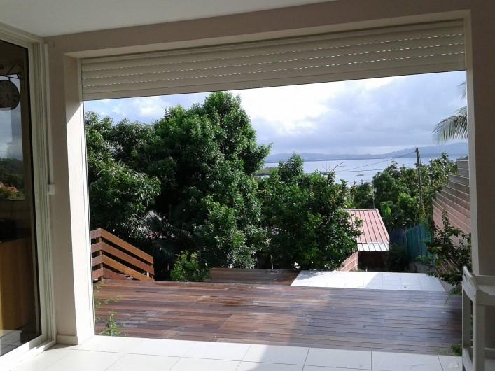 Location de vacances - Maison - Villa à Les Trois-Îlets - vue du séjour