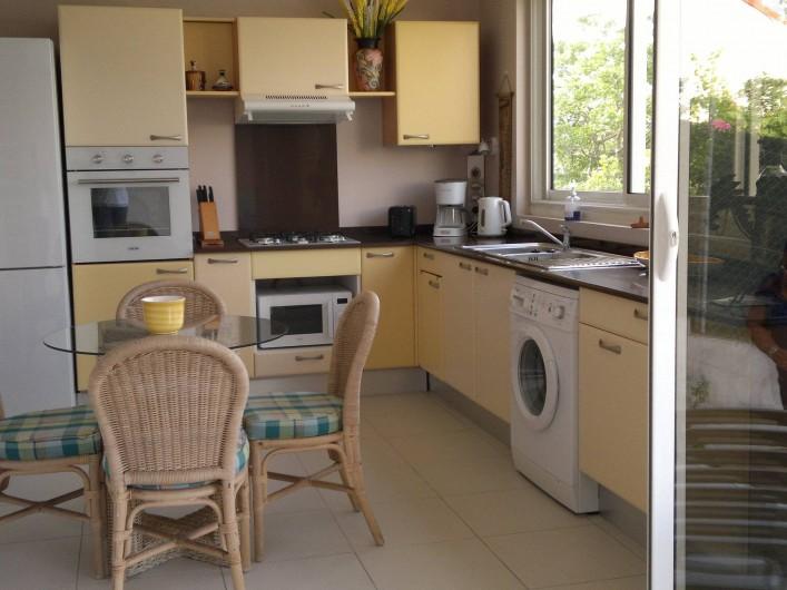 Location de vacances - Maison - Villa à Les Trois-Îlets - cuisine