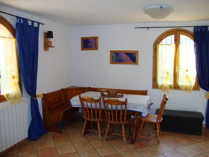Location de vacances - Villa à Breil-sur-Roya - salle à manger