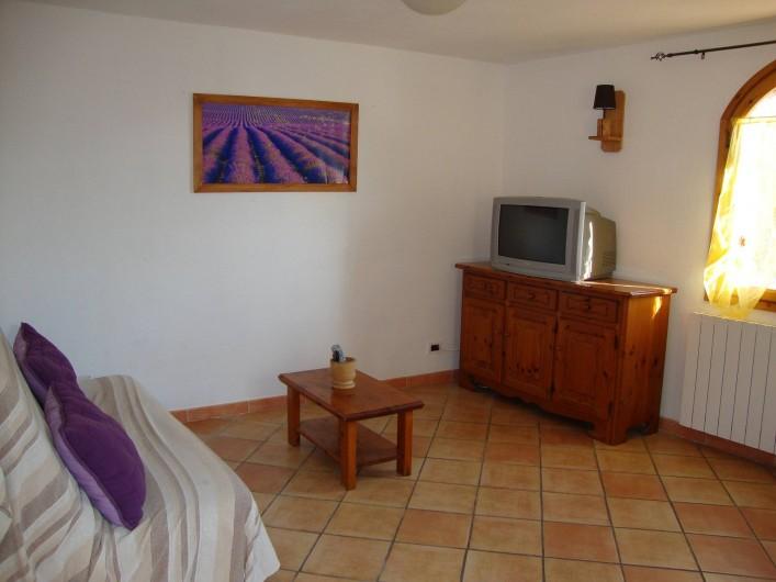 Location de vacances - Villa à Breil-sur-Roya - salon