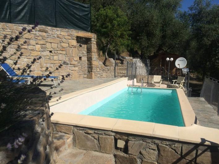 Location de vacances - Villa à Breil-sur-Roya - piscine