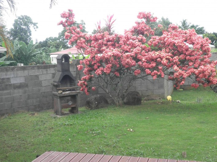 Location de vacances - Villa à Capesterre Belle Eau - coin barbecue