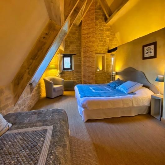 Location de vacances - Chambre d'hôtes à Saint-Crépin-et-Carlucet - Chambre gîte