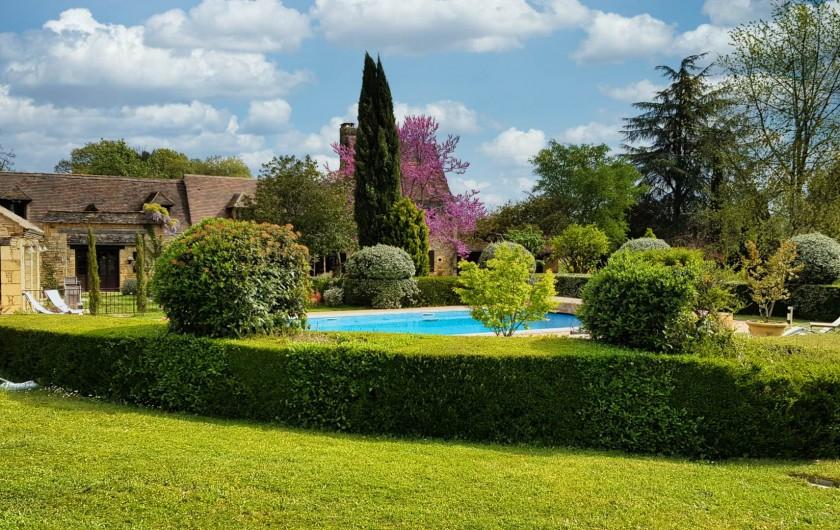 Location de vacances - Chambre d'hôtes à Saint-Crépin-et-Carlucet - parc