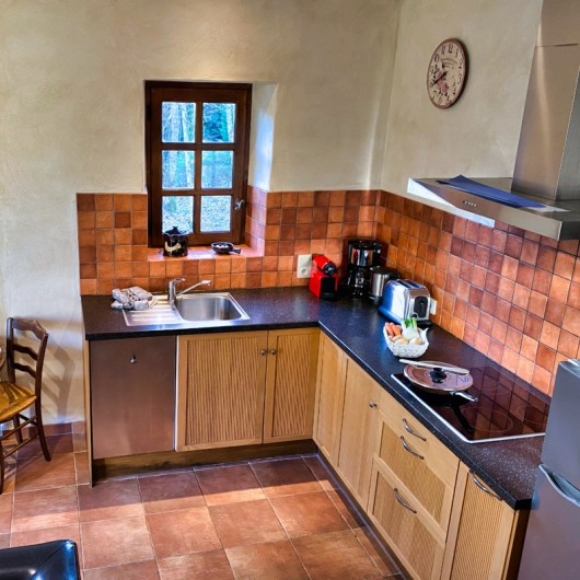 Location de vacances - Chambre d'hôtes à Saint-Crépin-et-Carlucet - cuisine gîte