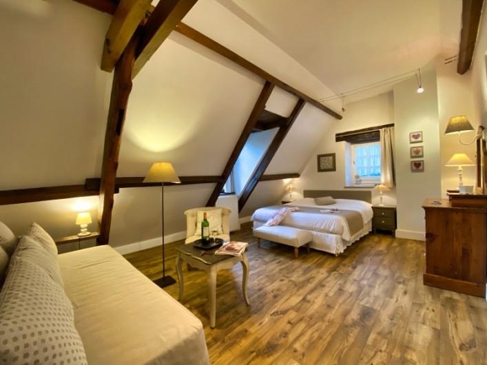"""Location de vacances - Chambre d'hôtes à Saint-Crépin-et-Carlucet - Chambre """"Célestine"""" 2/3 personnes"""