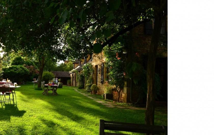 Location de vacances - Chambre d'hôtes à Saint-Crépin-et-Carlucet - La maison