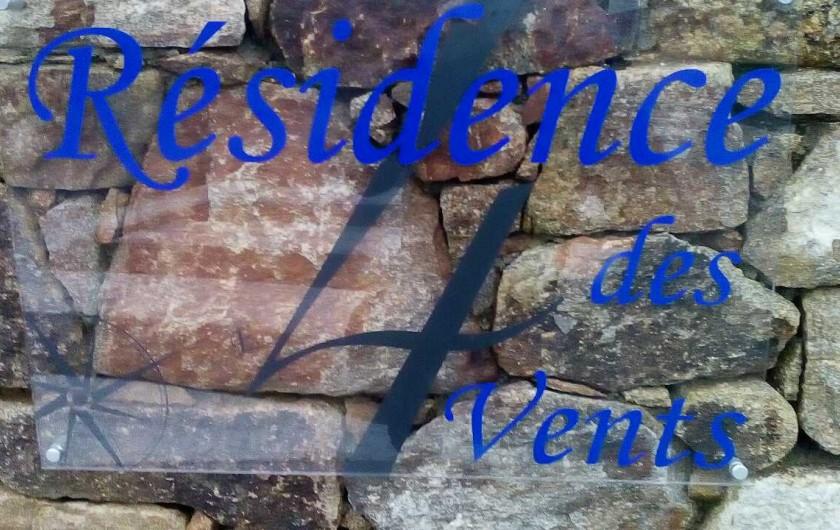 Location de vacances - Maison - Villa à Plouharnel - entrée de la résidence privée
