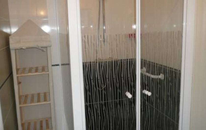 Location de vacances - Maison - Villa à Plouharnel - douche italienne rdc  wc