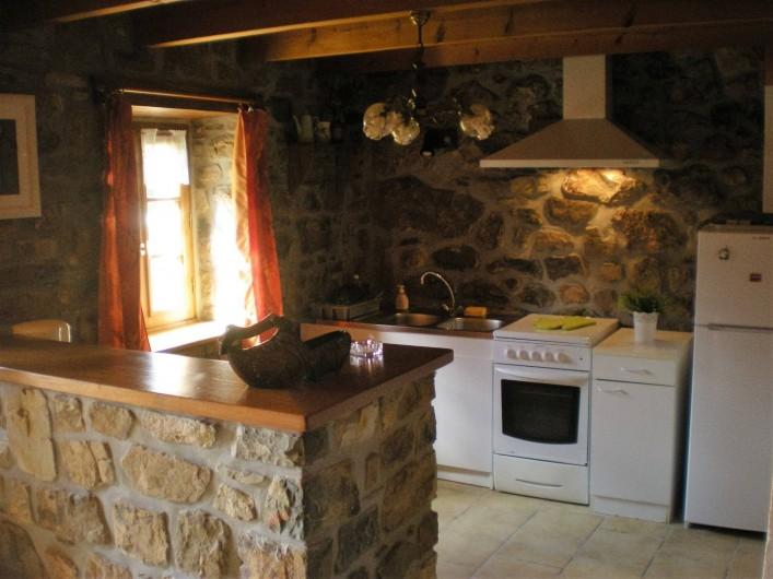 Location de vacances - Gîte à Telgruc-sur-Mer - Cuisine
