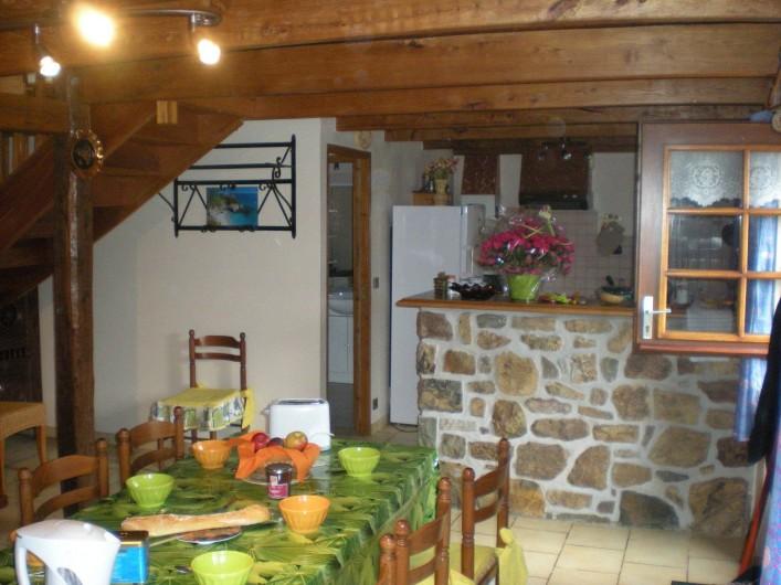 Location de vacances - Gîte à Telgruc-sur-Mer - Salle à manger