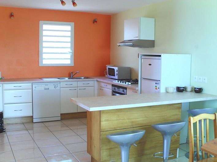 Location de vacances - Villa à Piton Saint-Leu - Espace cuisine équipée