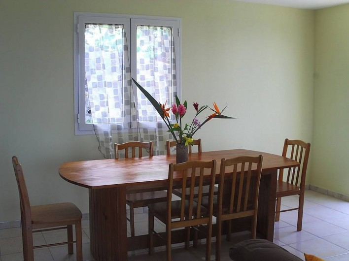Location de vacances - Villa à Piton Saint-Leu - Espace salle à manger