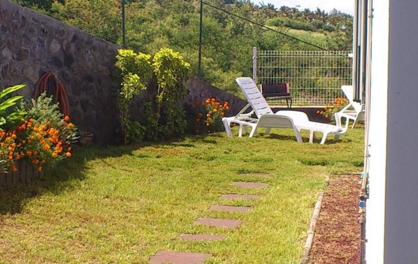 Location de vacances - Villa à Piton Saint-Leu - Une partie du jardin