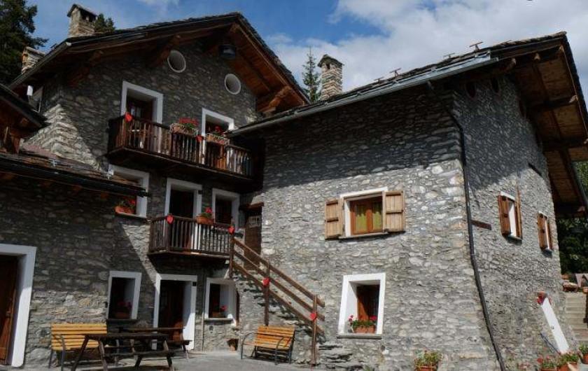 Location de vacances - Appartement à Saint-Nicolas - Vue panoramique cote sud
