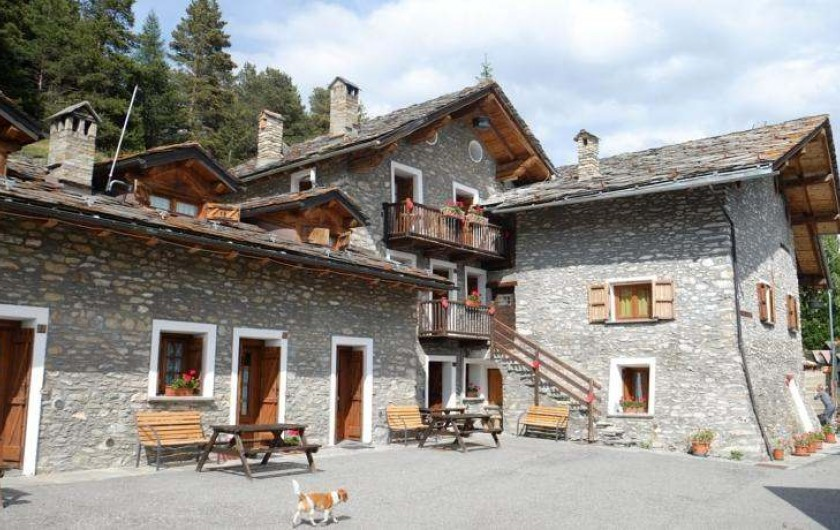 Location de vacances - Appartement à Saint-Nicolas - Vue paoramique de l'ensemble du village