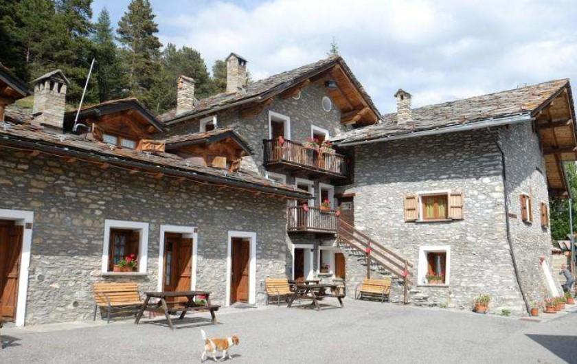 Location de vacances - Appartement à Saint-Nicolas - Vue paoramique de l'ensemble du village