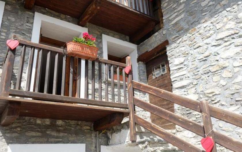 Location de vacances - Appartement à Saint-Nicolas - Detail de l'entree