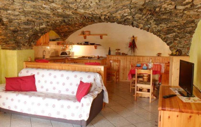 Location de vacances - Appartement à Saint-Nicolas - Sejour