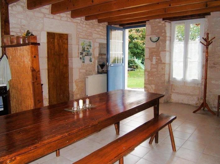Location de vacances - Chambre d'hôtes à Bouillé-Courdault