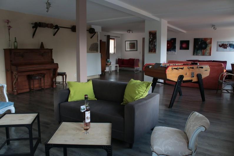 Location de vacances - Gîte à Charensat - Salon