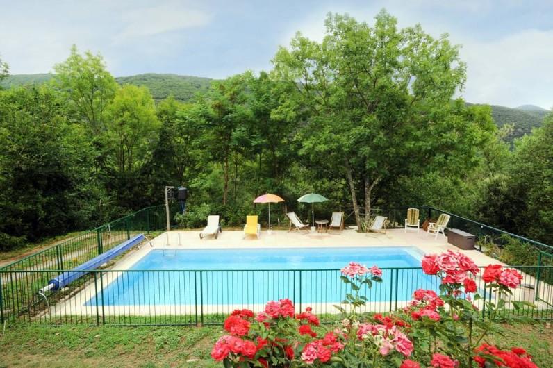Location de vacances - Mas à Arles-sur-Tech - piscine