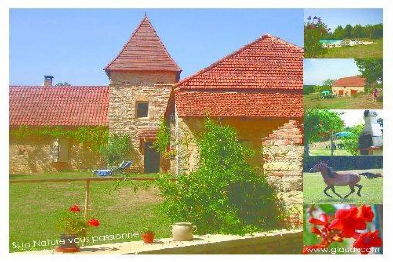 Location de vacances - Gîte à Uzech