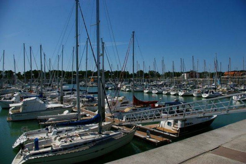 Location de vacances - Villa à Soulac-sur-Mer - Port Medoc bateaux des plaisanciers