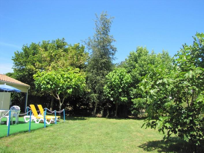 Location de vacances - Villa à Soulac-sur-Mer - parc