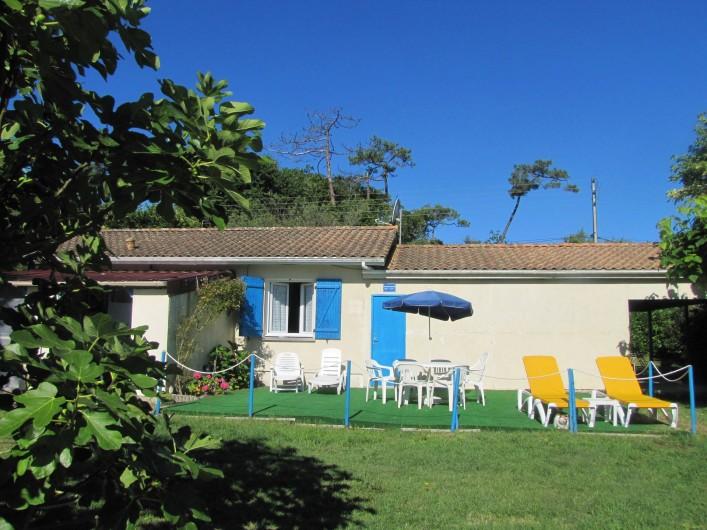 Location de vacances - Villa à Soulac-sur-Mer - Vue d'ensemble