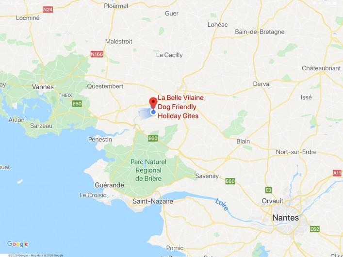 Location de vacances - Maison - Villa à Nivillac - Emplacment