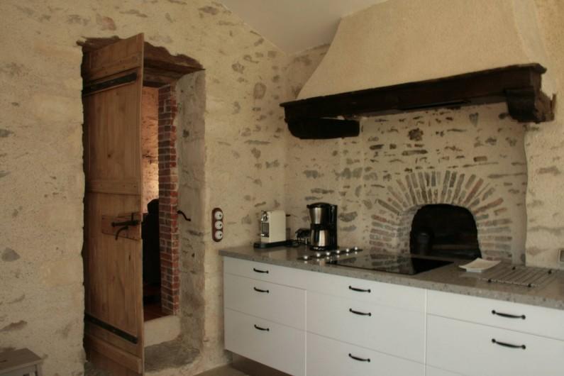 Location de vacances - Gîte à Château-Guibert - Détail de la cuisine