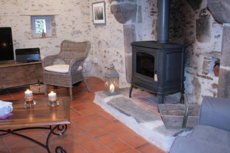 Location de vacances - Gîte à Château-Guibert - Salon