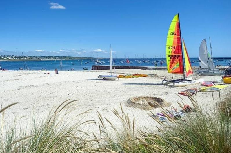 Location de vacances - Maison - Villa à Audierne - Plage de St Evette à 100m, club nautique,