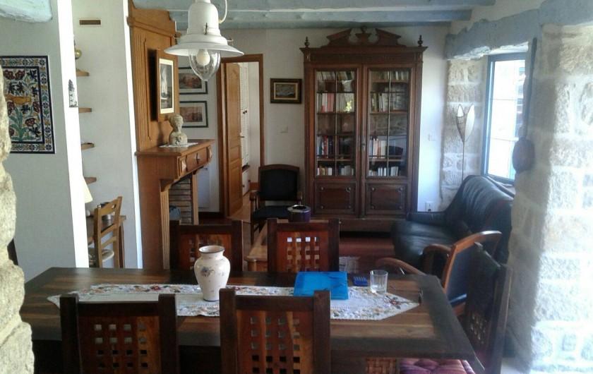 Location de vacances - Maison - Villa à Audierne - La salle à manger