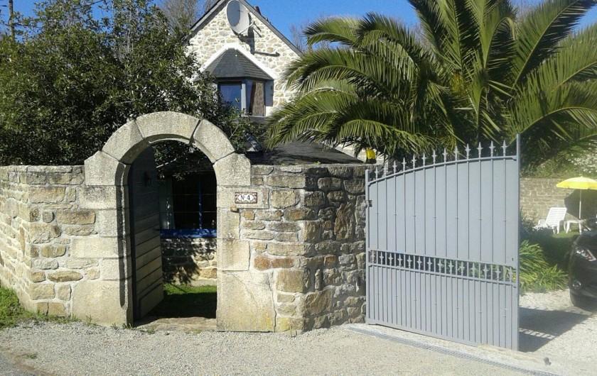 Location de vacances - Maison - Villa à Audierne - Entrée portail
