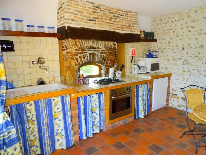 Location de vacances - Maison - Villa à Poisson - La cuisine
