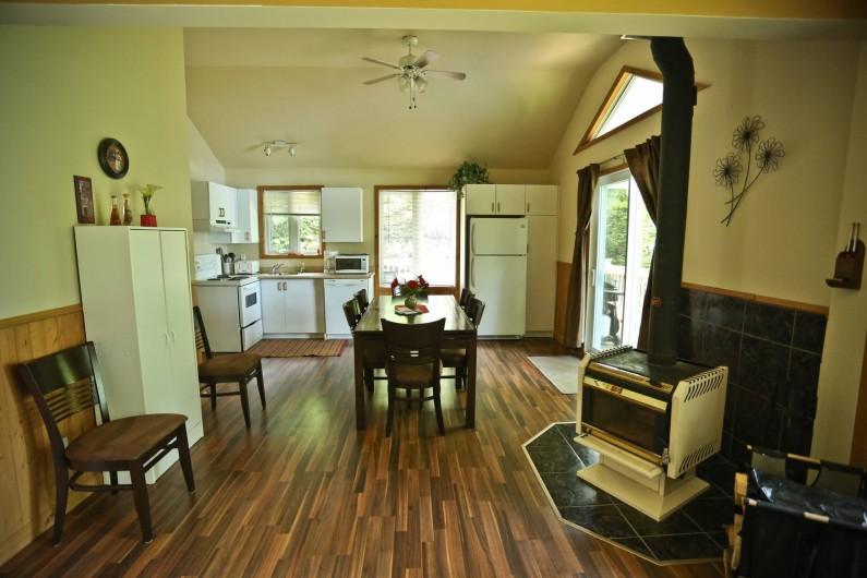 Location de vacances - Chalet à Shawinigan - 4520 chalet 2 chambres, intérieur